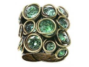 Sparkle Twist - zelená Prsteny - 5450543131788