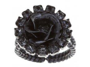 Burlesque - černá Prsteny - 5450543194783