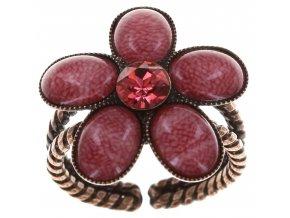 Ovaly - růžová Prsteny - 5450543199085