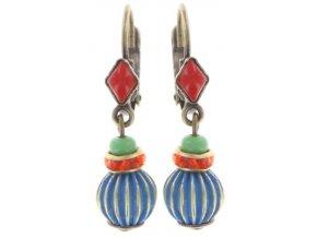 Oriental Bliss - multi/více barev Náušnice > Klasickézapínání - 5450543225722