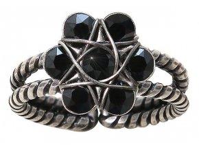 70´s Circles - černá Prsteny - 5450543271255