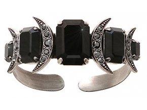 Art Deco Oriental - černá Náramky > Pevné - 5450543026282