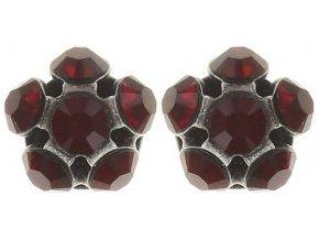 Disco Balls - červená Náušnice > Puzety - 5450527571500