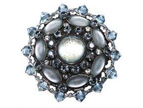 Josephine Baker - modrá Brože - 5450527614634