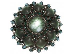 Josephine Baker - zelená Brože - 5450527615013