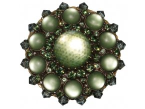 Josephine Baker - zelená Brože - 5450527615068