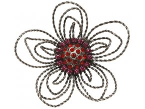 Wire Romance - růžová/červená Brože - 5450527670302
