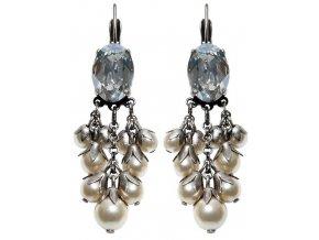 Pearl 'n' Ribbons - bílá Náušnice > Klasickézapínání - 5450527782333