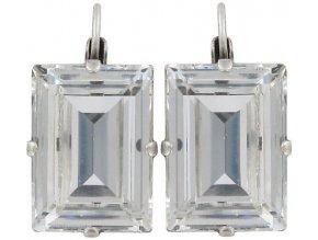 Art Deco Oriental - bílá Náušnice > Klasickézapínání - 5450543060248