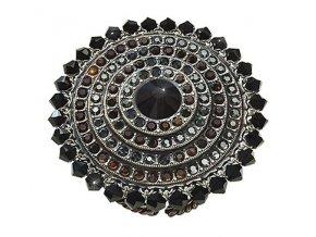 Maharani - černá Prsteny - 5450543068398
