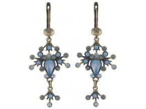 Filigree - modrá Náušnice > Francouzské zapínaní - 5450543080376