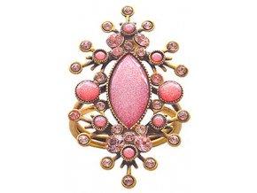 Filigree - růžová Prsteny - 5450543080772