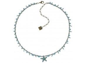 Marguerite - modrá Náhrdelníky - 5450543082134