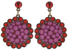 Bubbling - růžová Náušnice > Puzety - 5450543104904