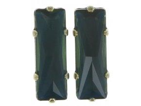 Manhattan Rocks - modrá/zelená Náušnice > Puzety - 5450543162461