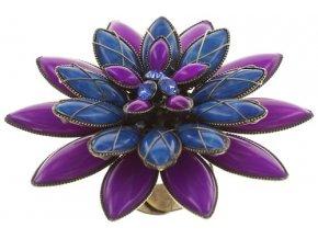 Psychodahlia - modrá/fialová Prsteny - 5450543215464