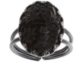 Liam - černá Prsteny - 5450543246635