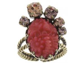 Liam - červená Prsteny - 5450543246819