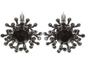 Petit Four de Fleur - černá Náušnice > Klasickézapínání - 5450543271811