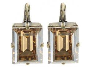Art Deco Oriental - béžová Náušnice > Klasickézapínání - 5450543278520