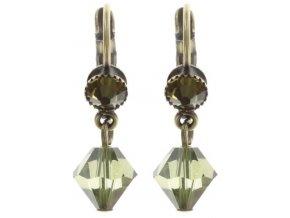 Stone Rhythm - zelená Náušnice > Klasickézapínání - 5450543293363