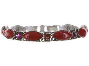 Dangling Navette - červená Náramky > Klasické - 5450543294957