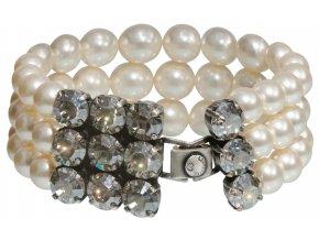 Pearl Shadow - bílá Náramky > Klasické - 5450527708111