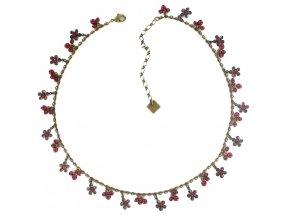Pearl 'n' Flowers - červená Náhrdelníky - 5450527784085