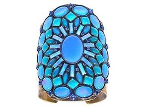 Ethnic Mosaic - modrá/zelená Náramky > Pevné - 5450543104058