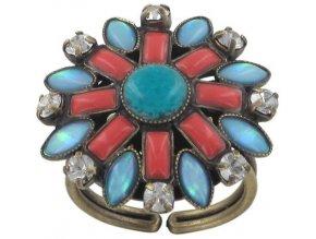 Ethnic Mosaic - multi/více barev Prsteny - 5450543104652
