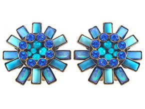 Doris Daisy - modrá Náušnice > Klipsy - 5450543104676