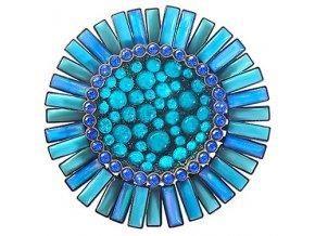 Doris Daisy - modrá Brože - 5450543106328