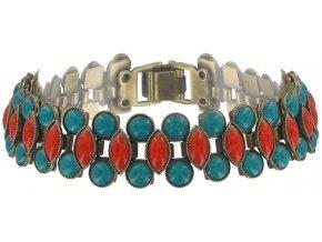 Ethnic Mosaic - multi/více barev Náramky > Klasické - 5450543108476