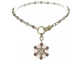 Dutchess - beige/pink Náramky > Klasické - 5450543167794