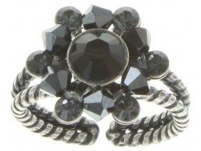 Dutchess - černá Prsteny - 5450543168616