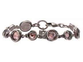 Sparkle Twist - beige/pink Náramky > Klasické - 5450543214153