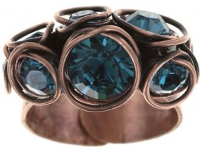 Sparkle Twist - modrá Prsteny - 5450543251691