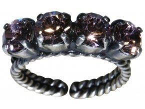 Colour Snake - růžová Prsteny - 5450527610087