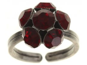 Disco Balls - červená Prsteny - 5450527610360