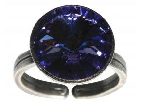 Rivoli - fialová Prsteny - 5450527613026