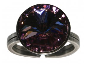 Rivoli - fialová Prsteny - 5450527613057