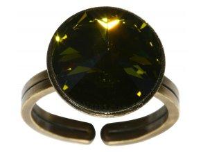 Rivoli - zelená Prsteny - 5450527640824