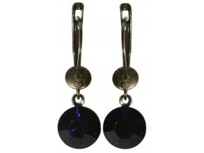Black Jack - modrá Náušnice > Francouzské zapínaní - 5450527641371