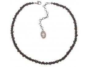 Vintage Pearl - černá/modrá Náhrdelníky - 5450527674164