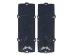Baguette - černá/modrá Náušnice > Puzety - 5450527674461