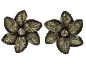 Blossoms of the Past - hnědá Náušnice > Puzety - 5450527713832