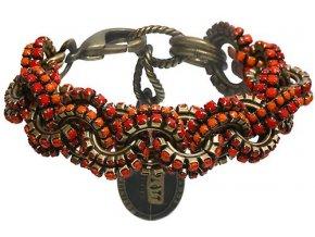 Africanica - červená/oranžová Náramky > Klasické - 5450527718899