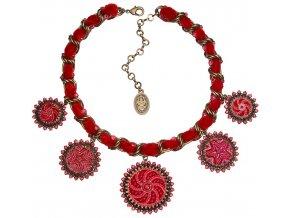 Kalinka - červená Náhrdelníky - 5450527761246