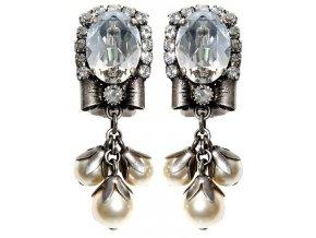 Pearl 'n' Ribbons - bílá Náušnice > Puzety - 5450527782241