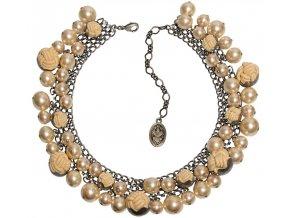 Bubble Pearls - krémová Náhrdelníky - 5450527807180